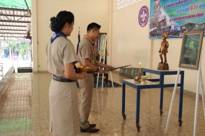 ค่ายลูกเสือ-เนตรนารีสามัญ ระดับชั้นประถมศึกษาปีที่ 6 ระหว่างวันที่ 9 - 11 มกราคม 2563