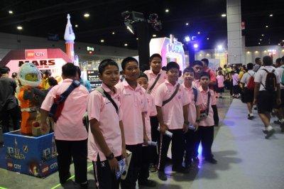 นักเรียนระดับชััน ม.1-2 เข้าชมงานมหกรรมวิทยาศาสตร์และเทคโนโลยี ณ อิมแพคเมืองทองธานี