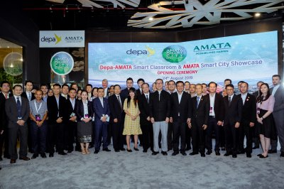 depa-AMATA Smart Classroom & AMATA Smart City Showcase | 24 Aug 2019