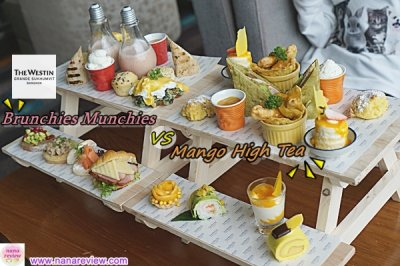 Brunchies Munchies VS Mango High Tea