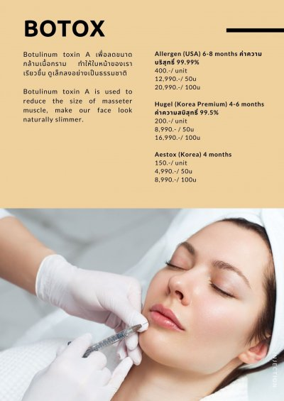 INJECTION & FACE REVITAL