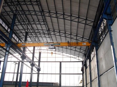ภาพงานเครน 3 ตัน กว้าง 11 เมตร