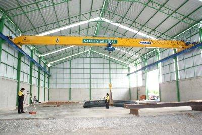 ภาพงานเครน 5 ตัน กว้าง 20 เมตร