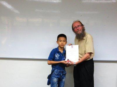 ซัมเมอร์สิงคโปร์ บรรยากาศในห้องเรียน