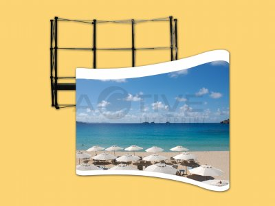 Pull Frame - Roll Up - X-Banner - Standee - J-Flag