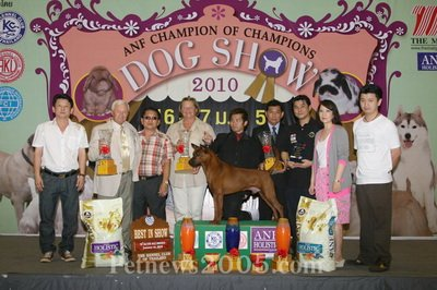 ANF Champion of Champions Dog Show 2010