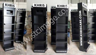 ชั้นวางโฆษณาสินค้า-Kriscare