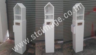 สแตนโชว์สินค้าตู้ทดสอบM-PE