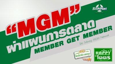 ผ่าแผนการตลาด MGM member get member