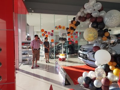 Launches New Triton Mitsuthaiyont branch Phibunmangsahan.