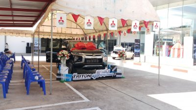 Launches New Triton Mitsuthaiyont in Kantharalak