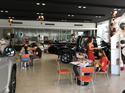 Launches New Triton Mitsuthaiyont in Ubon Ratchathani.