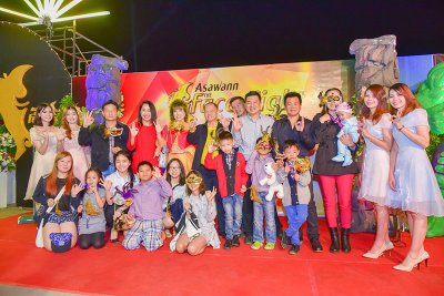 ASAWANN the Face Night Party 2015   ประมวลภาพ ASAWANN the Face Night Party 2015