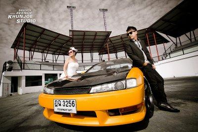 Pre-wedding outdoor@Bangkok Drag Avenue