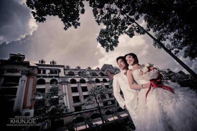 Pre-wedding Outdoor@Champs Elysees