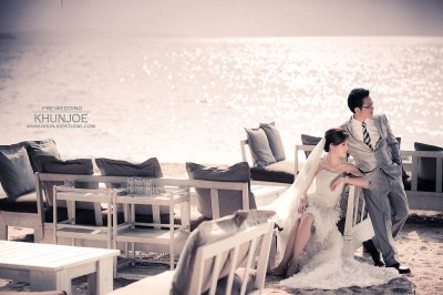 Pre-wedding Outdoor@The Glass House