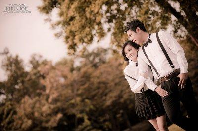 Pre-wedding Outdoor@Suan rod fai