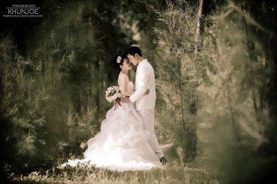Pre-wedding Outdoor@รวมผลงานสวนรถไฟ