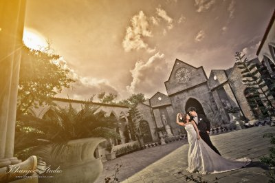 Pre-wedding Outdoor@Benedict studio