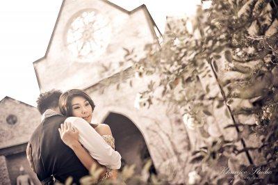 Pre-wedding Outdoor@Benedict studio