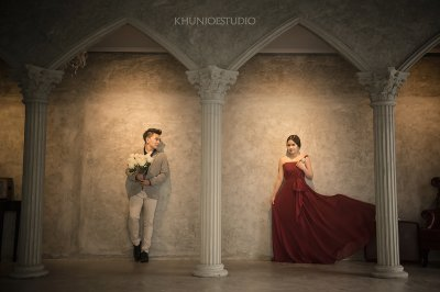Prewedding outdoor@Dominic studio