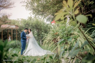 Prewedding สวนถ่าย outdoor ส่วนตัว