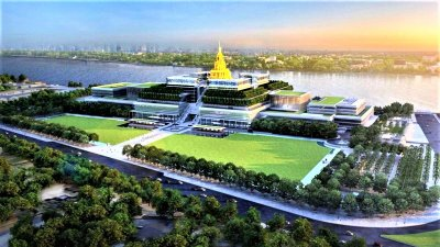 The New Parliament House of Thailand