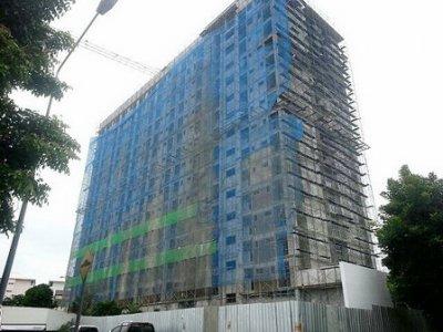 อาคารหอพักเทา-ทอง 4 มหาวิทยาลัยบูรพา จ.ชลบุรี