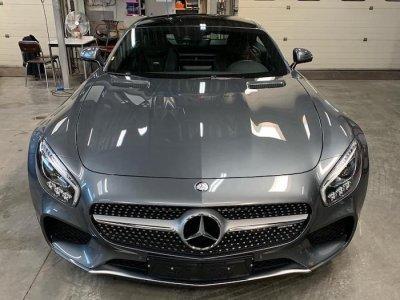 ขัดเคลือบสีรถ 3D รถ Mercedes-Benz GT