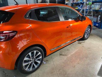 ขัดเคลือบสีรถ 3D รถ Toyota Collora