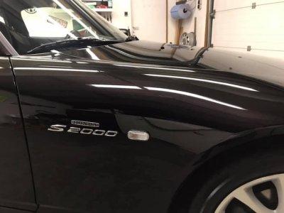 ขัดเคลือบสีรถ 3D รถ Honda S2000