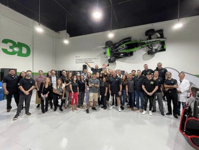 New 3D official store launch in Miami USA