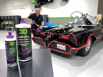 ขัดฟื้นฟูสภาพสีรถ Batman ปี 1966 Batmobile Paint Correction by Mike Phillips