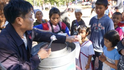 AT-ZE CSR จัดงานวันเด็กให้น้องๆบนยอดดอย จังหวัดแม่ฮ่องสอน