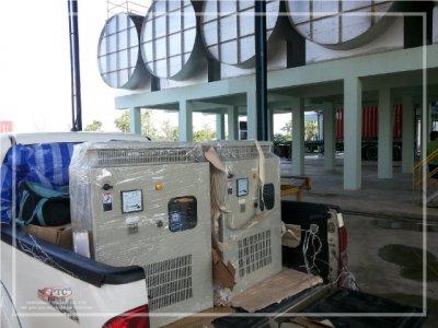 ตู้ควบคุมเครื่องปั่นน้ำยาง จ.อุบลราชธานี
