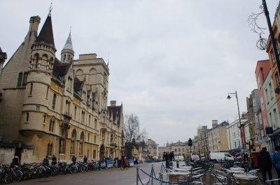 Campus Tour at Oxford, UK
