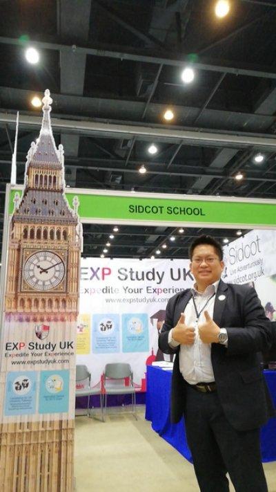 การออกบูธในงาน EduLife Expo 2018 ในฐานะตัวแทนของโรงเรียน Sidcod