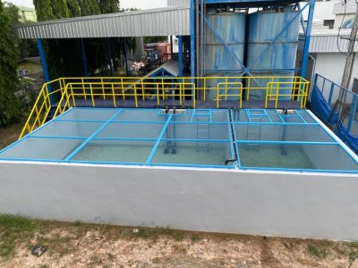 Chromalloy (Thailand) Co.,Ltd. Wastewater Treatment Plant Project Feed Water Capacity 200 cu.m./day