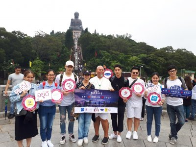 Tour Hong Kong Big Buddha Ngong Ping, 08-10 July 2017 EDS BONUS EAT DREAM SHOP IN HONG KONG