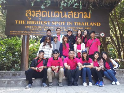 Group Chiang Mai Phranakhon Rajabhat University, 4-6 March 2017