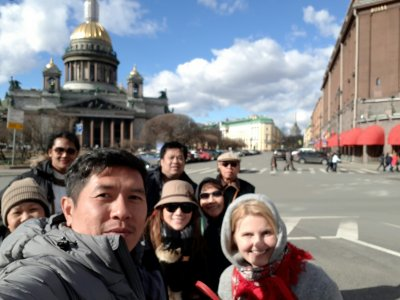 ทัวร์รัสเซีย มอสโคว์-เซ็นปเตอร์เบิร์ก วันที่ 5-11 เม.ย. 60