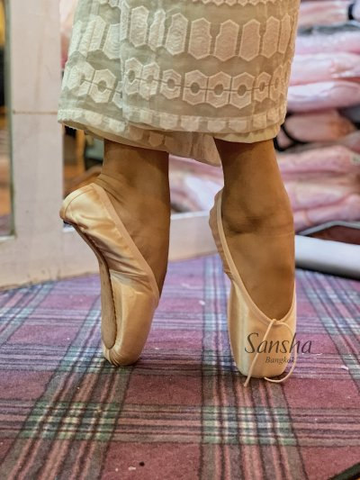 FITTING POINTE SHOES
