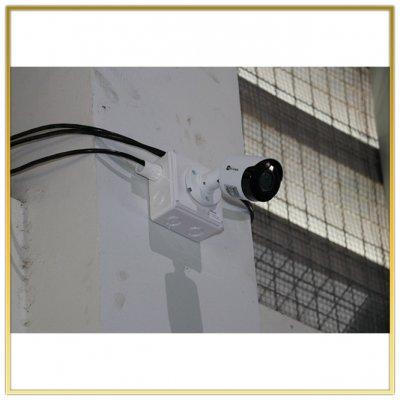 ติดตั้งกล้อง CCTV รพ สนาม สนามกีฬาบางกระทึก