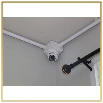 ติดตั้งกล้อง CCTV รพ สนาม เทศบาลตำบลหนองเสือ