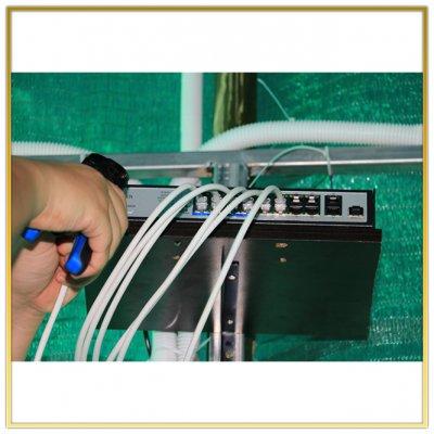 ติดตั้งกล้อง CCTV รพ สนาม อบต ระแหง