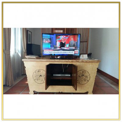 """Digital TV System """"The Dhara Dhevi Chiang Mai"""" by HSTN"""