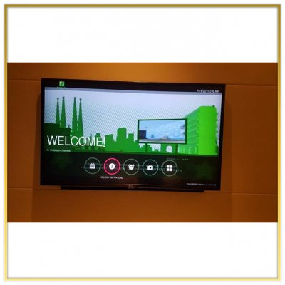 """Digital TV System """"Holiday inn & Suites Rayong City Centre"""" by HSTN"""