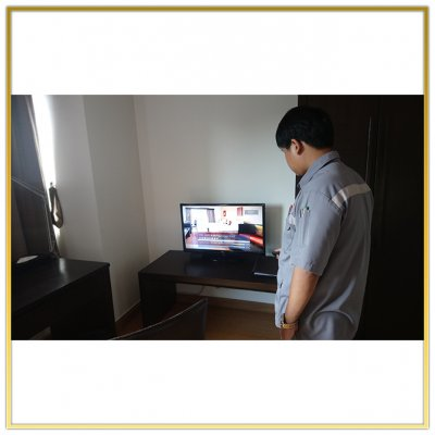 """Digital TV System """"NorthGate Ratchayothin"""" by HSTN"""