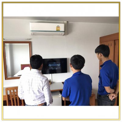 "Digital TV System ""TK Palace Hotel & Convention"" by HSTN"