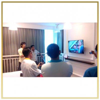 """ระบบดิจิตอลทีวี """"Centara Grand Modus Resort Pattaya"""" ติดตั้งโดย HSTN"""